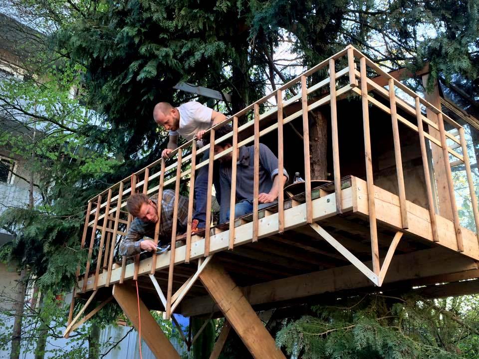 bouwenboomhut